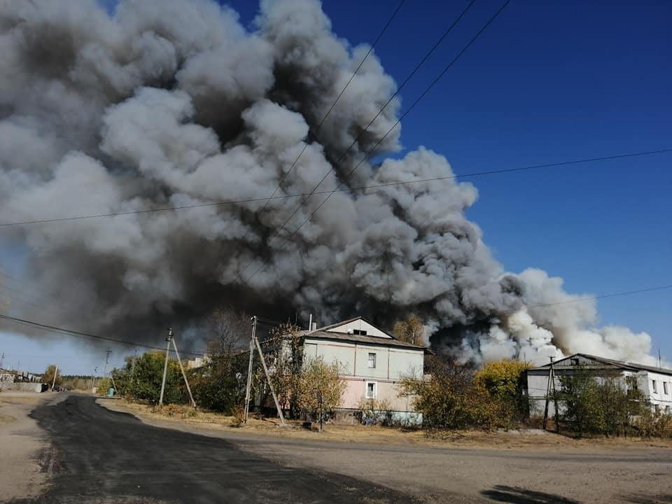 пожары электростанция