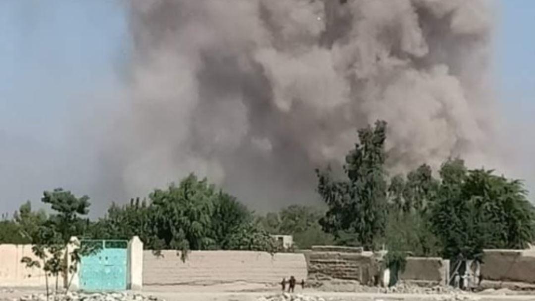 талибы устроили взрыв