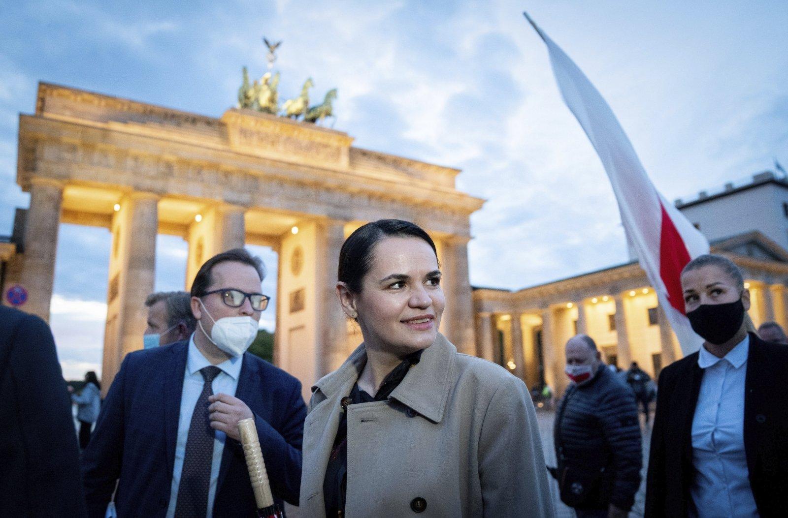 Тихановская в Берлине