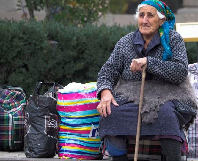Беженцы в Нагорном Карабахе