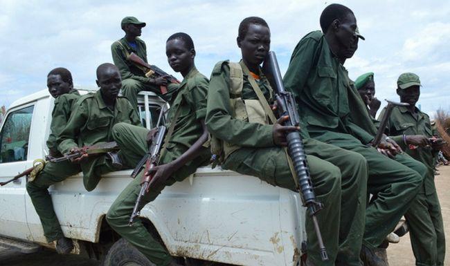 боевики Эфиопии.