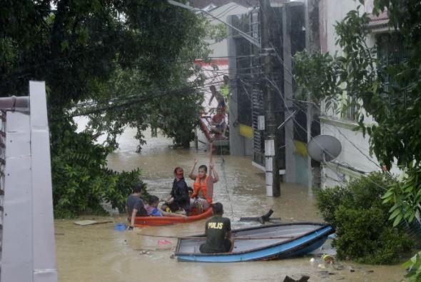 Филиппины эвакуация
