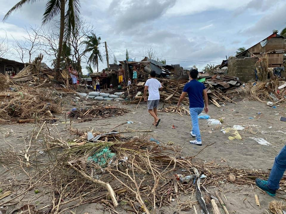 Филиппины шторм