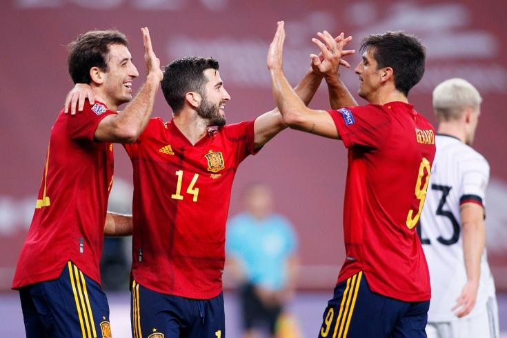 Германия-Испания