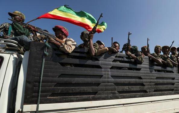 конфликт в Эфиопии