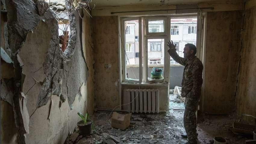 Обстрел городов Нагорного Карабаха