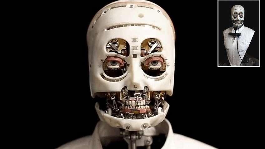 робот с человеческой мимикой