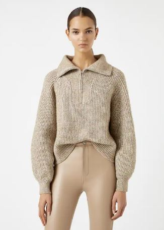 свитер со змейкой
