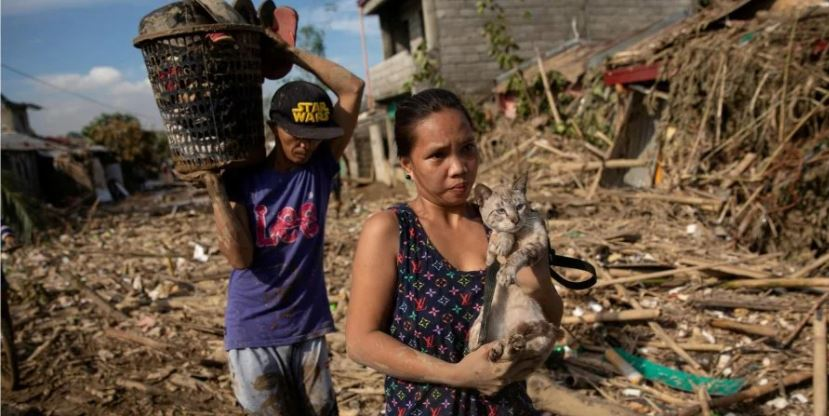 Небывалая серия тайфунов и ураганов ударила по многим странам