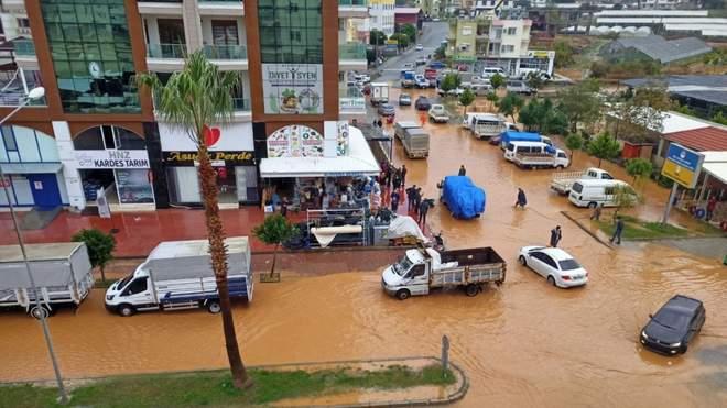 турция наводнения