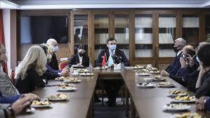 встреча Кудебы с диаспорой в Турции