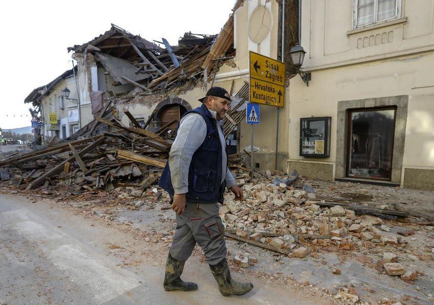 Землетрясения в Хорватии: в ряде регионов – режим катастрофы