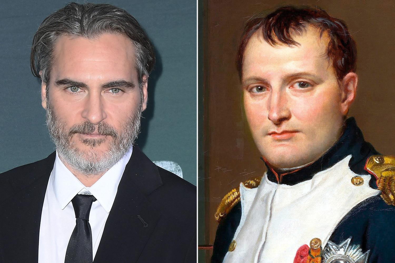 Феникс в роли Наполеона