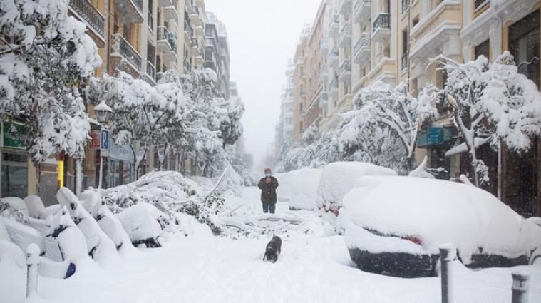 Стихия-2021 в мире: рекордные морозы, снегопады и наводнения