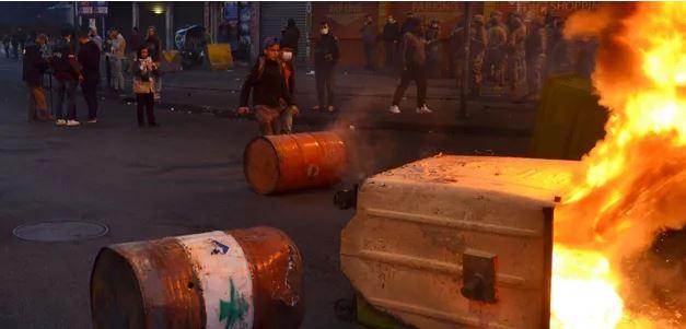 В Ливане и Нидерландах – антикарантинные протесты, много раненых
