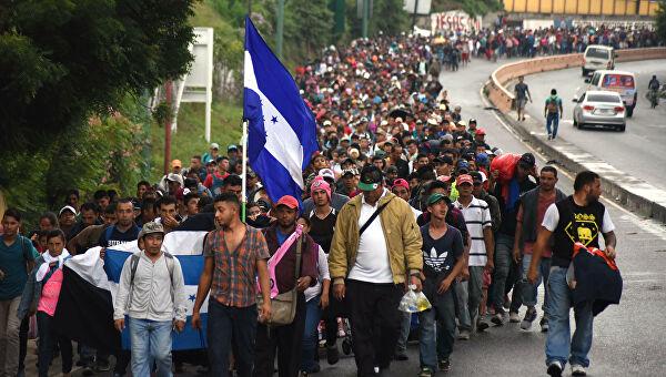 Мигранты из Гондураса