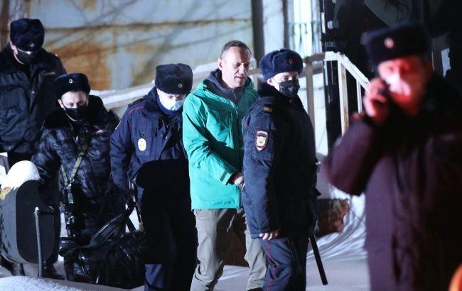 Навальный в СИЗО