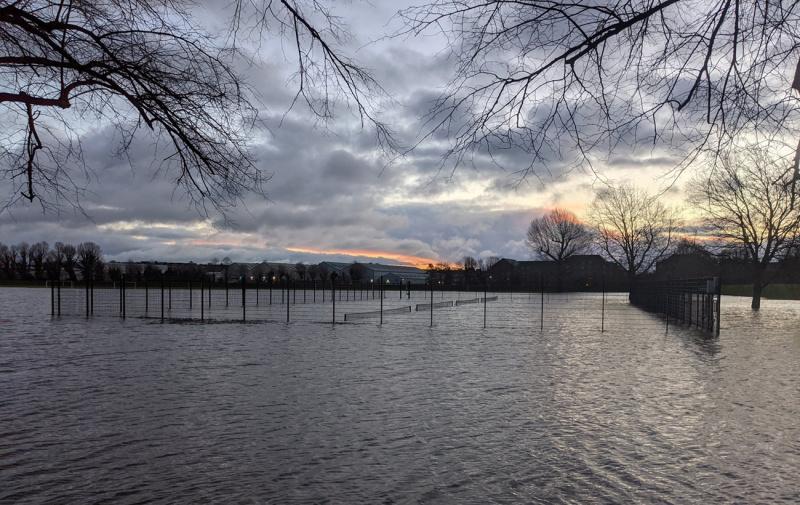 наводнение Британия