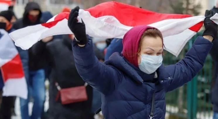 В Минске, Брюсселе и Берлине прошли акции протестов