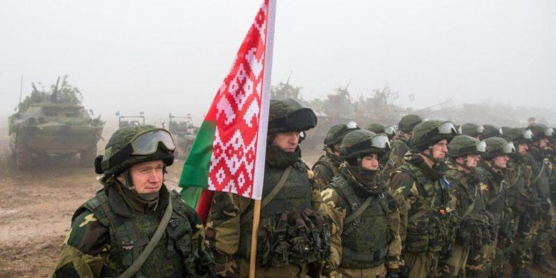 проверка войск в Беларуси