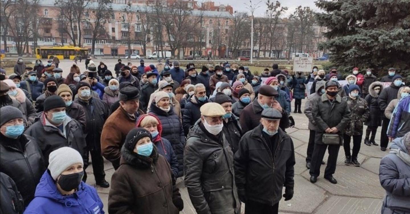 Тарифные протесты