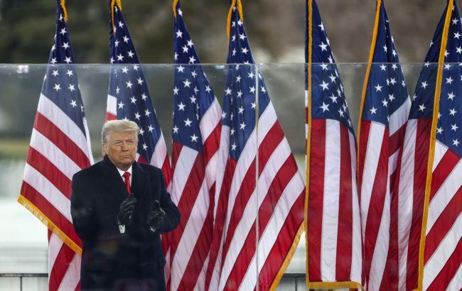 Трамп обратился к американцам с прощальной речью