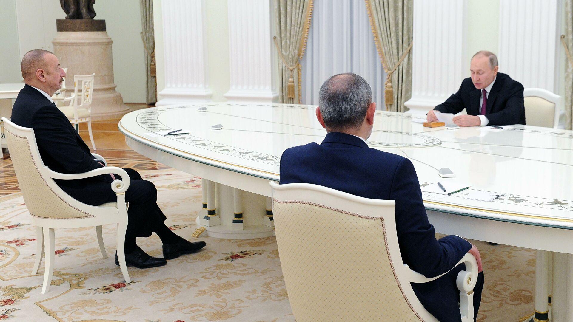 Трёхсторонняя встреча лидеров Армении, России и Азербаййждана