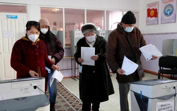 Выборы в Кыргызстане - участки