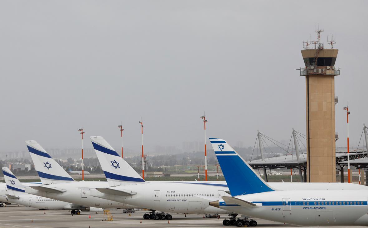 Запрет на авиарейсы Израиль