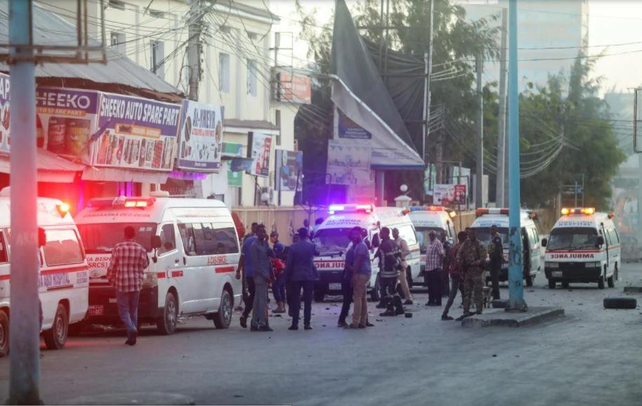 Сомали взрыв