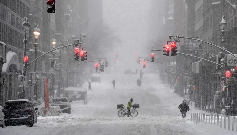 В США растёт количество жертв аномальных морозов