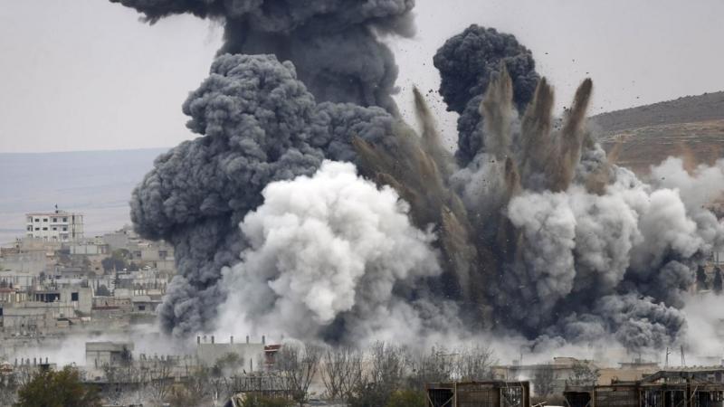 удар по Сирии.