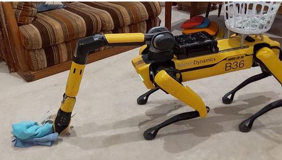 усовершенствованный робот-пёс