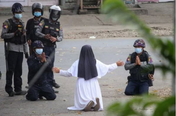 монашка Мьянма