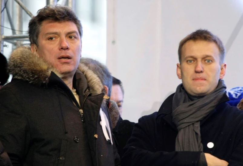 Навальный и Немцов