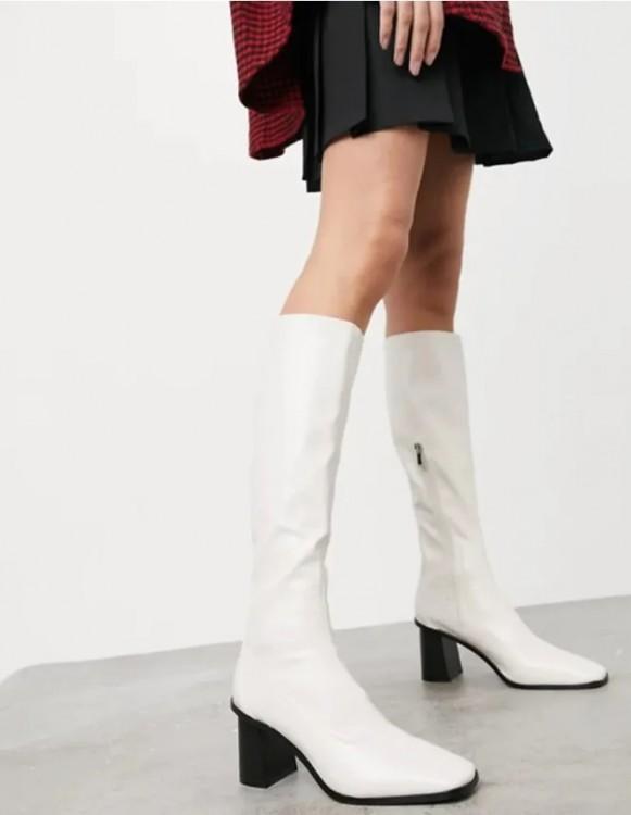 сапоги к платьям в стиле 60.