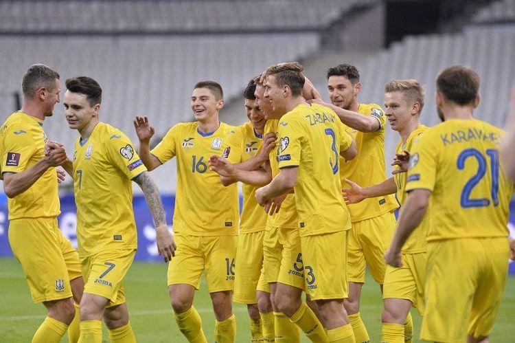 Сборная Украины сыграла вничью с действующими чемпионами