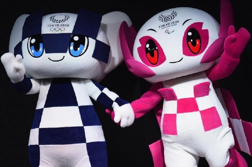 символы Олимпиады в Токио