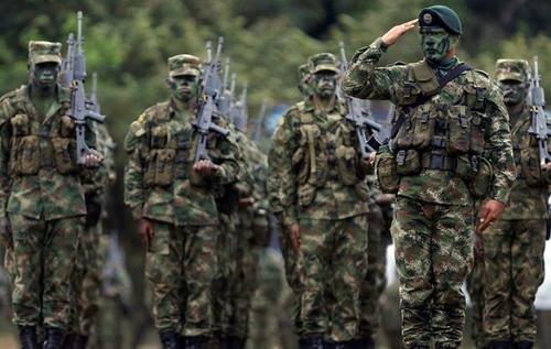 спецназ Колумбия