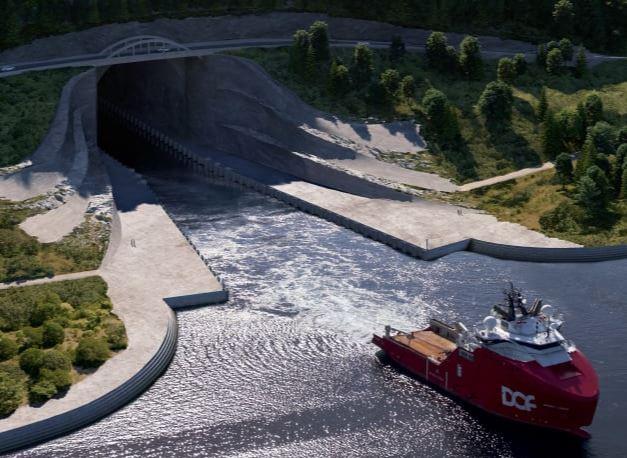 Туннель для кораблей
