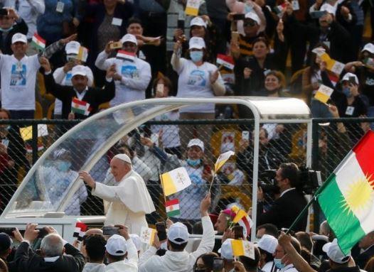 встреча папы Римского