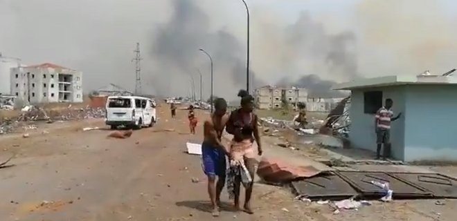 Взрыв в Экваториальной Гвинее: десятки погибших, сотни раненых