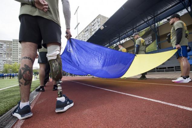 Украинская сборная готовится к «Играм Воинов»